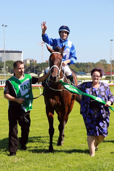 Winx wins the 2018 Chipping Norton Stakes