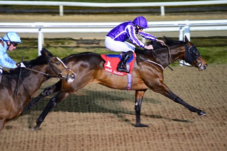 Mendelssohn wins his season opener in the Patton Stakes at Dundalk