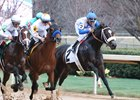 Sporting Chance (inside) finished third in the Southwest Stakes at Oaklawn Park