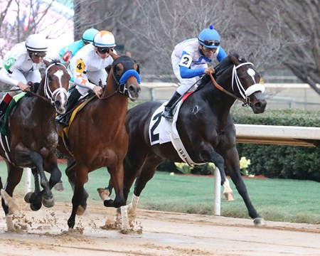 Sporting Chance finished third in the Southwest Stakes