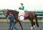 Blended Citizen after winning the Jeff Ruby Steaks at Turfway Park