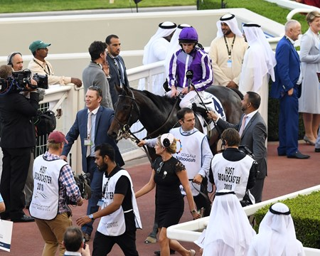 Mendelssohn wins the 2018 UAE Derby