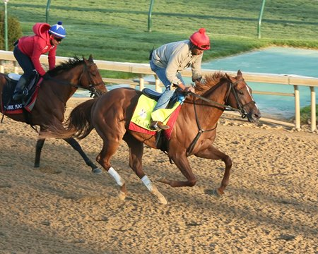 Flameaway Clears Workmate Ride A Comet While Clocking Five Furlongs In 100 2