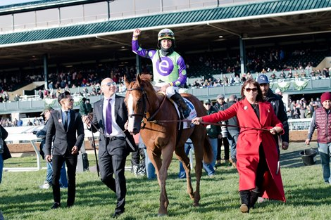 Good Magic Lives Up To The Hype In Blue Grass Bloodhorse