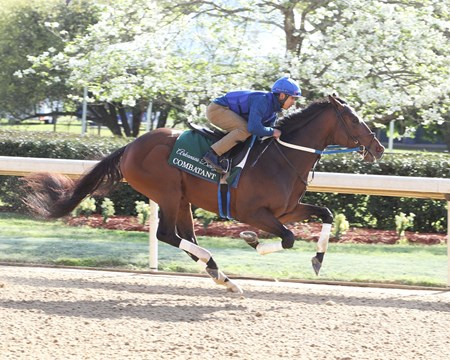 Combatant - Oaklawn Park - Work - April 9, 2018