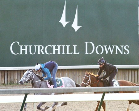 My Miss Lilly - Work - Churchill Downs - 042618