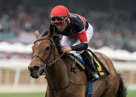 Fatale Bere wins the 2018 Providencia Stakes