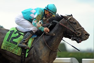 My Boy Jack secured his Kentucky Derby spot with a win in the April 14 Stonestreet Lexington Stakes at Keeneland