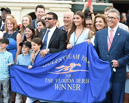 Audible wins the 2018 Florida Derby