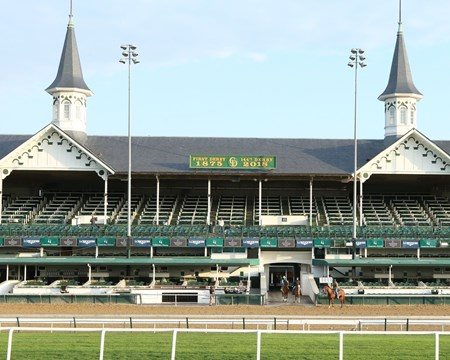Hofburg - Gallop -Churchill Downs - 042618