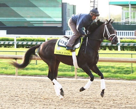 Noble Indy - Gallop - Churchill Downs - 042618