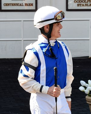 Robbie Davis April 18 at Aqueduct Racetrack