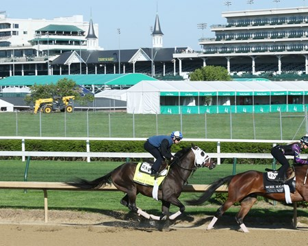 Noble Indy - Work - Churchill Downs - 042718