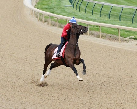 Wonder Gadot - Gallop - Churchill Downs - 042218