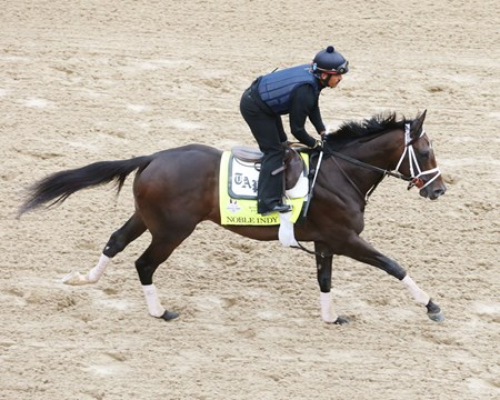 Noble Indy - Gallop - Churchill Downs - 042518