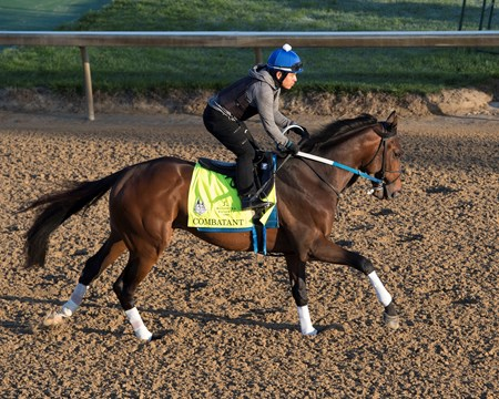 Combatant works at Churchill Downs