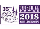 2018 Breeders' Cup Logo - Purple