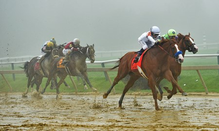 Justify wins the 2018 Preakness