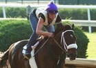 Bravazo works May 31 under Danielle Rosier at Churchill Downs