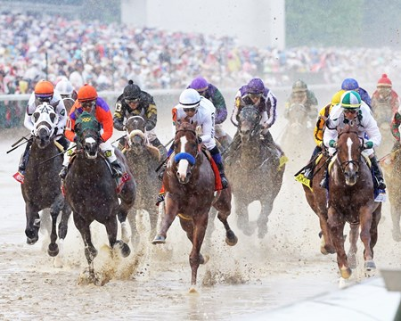 Justify wins the 2018 Kentucky Derby (G1)