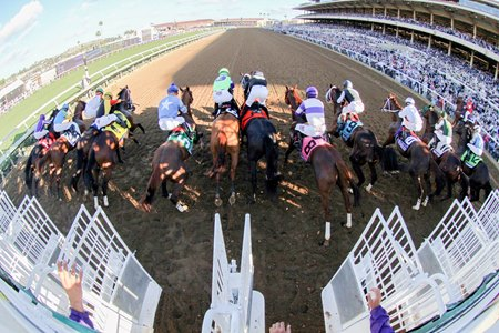 The Juvenile will be the featured race on Breeders' Cup Friday beginning this year