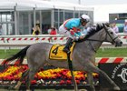Red Ruby with Paco Lopez win the 93rd Running of the Black-Eyed Susan Stakes (GII) at Pimlico on May 18, 2018