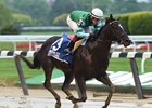Nootka Sound wins the Soaring Softly Stakes at Belmont Park