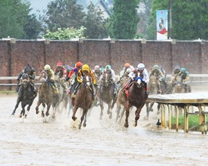 Record wagering at Churchill Downs during the week of the Kentucky Derby Presented by Woodford Reserve (G1) have enabled Churchill Downs to increase overnight purses