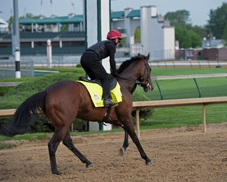 Mendelssohn Morning scenes on May 3, 2018 Churchill Downs in Louisville, Ky.
