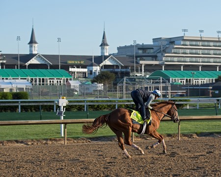 Good Magic Morning scenes on May 1, 2018 Churchill Downs in Louisville, Ky.