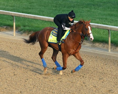 Justify - Churchill Downs - May 10, 2018
