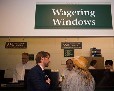 churchill downs betting windows