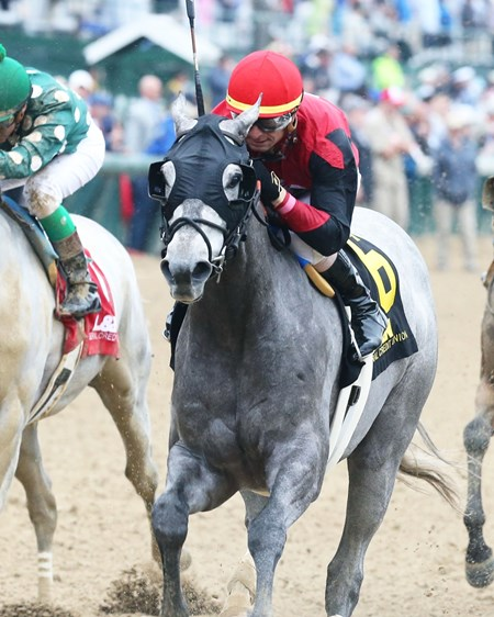 Big Gray Rocket - ALW, Churchill Downs, May 5, 2018