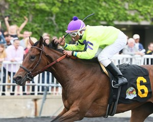Princess La Quinta wins the May 19 Arlington Matron Stakes at Arlington International Racecourse