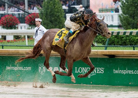 Funny Duck Splashes To Pat Day Mile Victory Bloodhorse