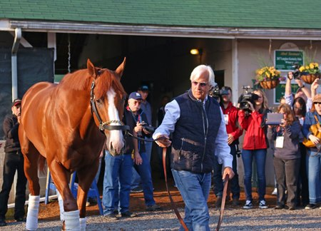 Justify May 6 at Churchill Downs