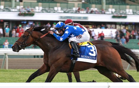 Money Multiplier Reigns Again In Monmouth Stakes Bloodhorse
