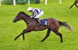 Alpha Centauri races to a 1 3/4-length victory in the Tattersalls One Thousand Guineas at the Curragh