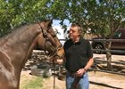 George Mallet's love of Thoroughbreds saw him make a trip to New Mexico to visit Mine That Bird