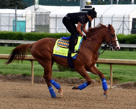 Justify 2018 Kentucky Derby Week
