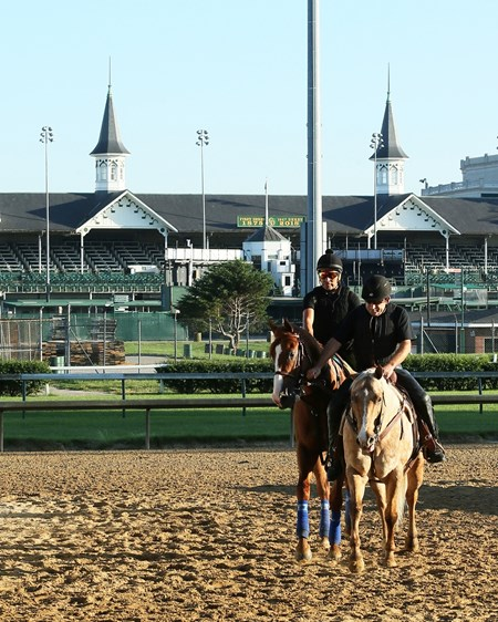 Justify - Churchill Downs - 052418
