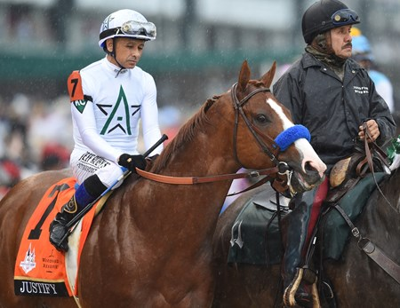 (May 5, 2018) Justify, Mike Smith up...