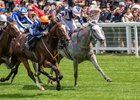 Accidental Agent puts away Lord Glitters to win the Queen Anne Stakes at Royal Ascot