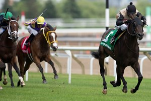 Eskiminzin captures the Bold Ruckes Stakes June 24 at Woodbine.