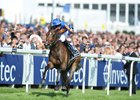 Forever Together and jockey Donnacha O'Brien win the Investec Oaks at Epsom
