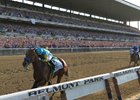 American Pharoah wins the 2015 Belmont Stakes to secure the Triple Crown