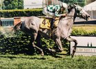 Starry Dreamer wins the 1997 Regret Stakes