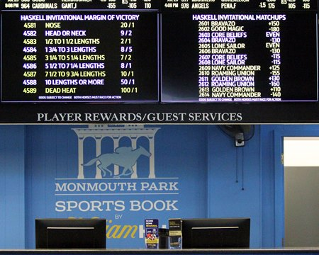 delaware park sports betting rules football