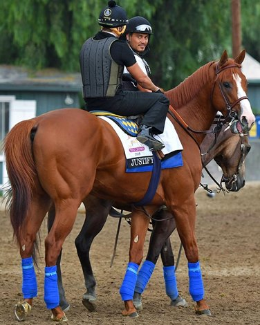 Justify To Undergo Evaluation Racing Plans On Hold