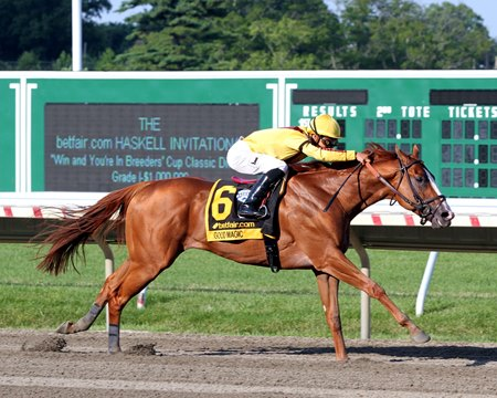 Good Magic Rolls In Haskell At Monmouth Bloodhorse